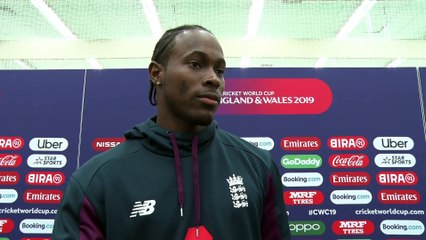 CWC19 - England Cricket all-rounder Jofra Archer's Interview