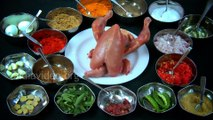 Stuffed Chicken Fry - Recipe and preparation of a Malabar Cuisine India Video