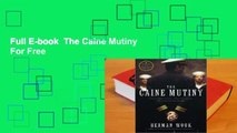Full E-book  The Caine Mutiny  For Free