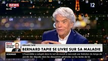 """Les confidences bouleversantes de Bernard Tapie sur son cancer: """"Ca ne va pas très bien... Il va falloir que je reprenne la chimio"""""""