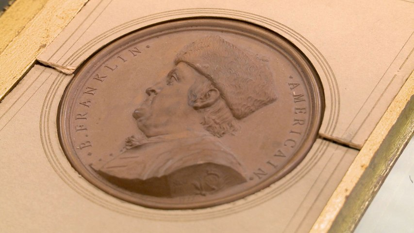 Pawn Stars: A Seller's Ridiculous Offer for a Ben Franklin Medallion