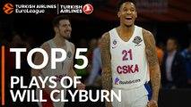 Top 5 Plays, Will Clyburn, All-EuroLeague First Team