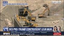 Des pro-Trump construisent eux-mêmes un mur privé à la frontière avec le Mexique