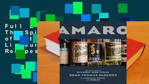 Full E-book Amaro: The Spirited World of Bittersweet, Herbal Liqueurs with Cocktails, Recipes, and
