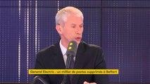 """""""Il faut que le gouvernement s'assure que les engagements pris par General Electric seront tenus"""", affirme Franck Riester, ministre de la Culture"""
