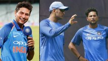ICC World Cup 2019: Dhoni Gives Us Freedom,Kohli Gives Us Confidence, Says Kuldeep Yadav!!
