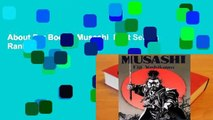 About For Books  Musashi  Best Sellers Rank : #4