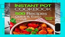 Instant Pot Pressure Cooker Cookbook: 500 Everyday Recipes for Beginners and Advanced Users. Try