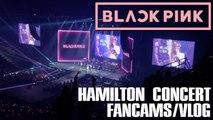 【KY】BLACKPINK WORLD TOUR HAMILTON Vlog Fancams
