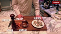 Tombez dans le Piège #11 : les huîtres à la neige de vinaigre d'échalote