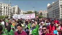 Transition en Algérie : les étudiants et les enseignants dans les rues d'Alger