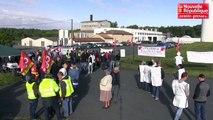 VIDEO. St-Saviol : les salariés manifestent contre la fermeture de la laiterie