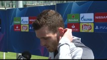 Andy Robertson pre UCL final (part two)