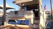 2019 Prestige 520 Yacht - Walkthrough - 2019 Miami Boat Show