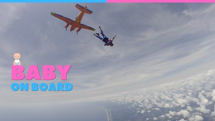 Scared Of Heights Skydive Gender Reveal