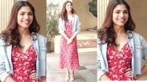 Sanjay Leela Bhansali's niece Sharmin Segal looks simple & sober at Malaal song launch | FilmiBeat