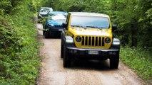 Así es la nueva gama SUV de Jeep, en acción