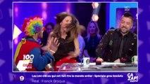 Capucine Anav terrorisée par un clown