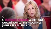 Mathilde Seigner fan de Carla Bruni et Nicolas Sarkozy, elle assume