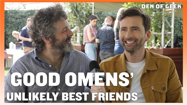 Good Omens (2019) - David Tennant and Michael Sheen Interview