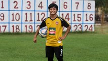 From paddy fields to football pitches, female striker eyes goals in conservative Myanmar