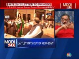 Experts discuss implications of Arun Jaitley opting out of the new government