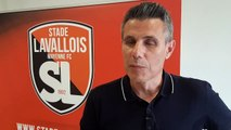 Stade lavallois - Olivier Frapolli