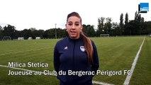 Milica Stetic, joueuse au Club du Bergerac Périgord FC