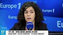 """Européennes : """"il faut se remettre en question"""", estime l'eurodéputée LFI Manon Aubry"""