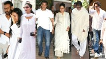 Bollywood Celebs Give Their EMOTIONAL SUPPORT To Ajay Devgn's Family At Veeru De