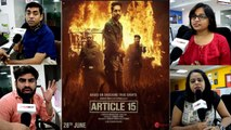Article 15 Trailer Reaction: Ayushmann Khurrana | Anubhav Sinha | FilmiBeat
