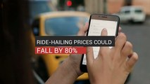 Ride-Hailing Prices Could Fall by 80%