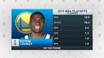 The Jim Rome Show: Kevon Looney talks Andre Iguodala