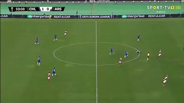 Chelsea [2]-0 Arsenal - Pedro