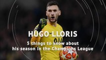 Five things about Hugo Lloris' season in the Champions League