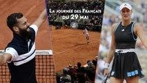Roland-Garros 2019 - Exploit de Moutet, Gasquet, Tsonga et Mladenovic au tapis : La journée des Français du 29 mai