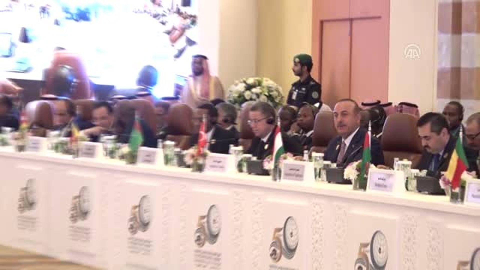 Dışişleri Bakanı Çavuşoğlu, İslam İşbirliği Teşkilatı Bakanlar Toplantısına katıldı (2)