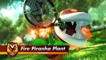 Mario Tennis Aces - Trailer Fire Piranha Plant