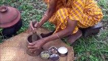 De fruits de mer Recette  cuire les Petites Carangues Curry de Poisson dans mon Village par la grand-mère