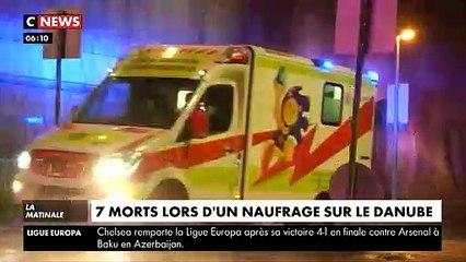 Budapest : Sept touristes tués cette nuit et 19 portés disparus après le naufrage d'un bateau en plein centre ville