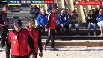 Pétanque : Championnats Territoriaux Rhône-Alpes 2019 à Chabeuil - Poules FABRE vs FERNANDEZ