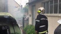 Incendie rue Lemasson à Troyes