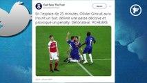 Twitter sous le charme d'Olivier Giroud après sa superbe finale