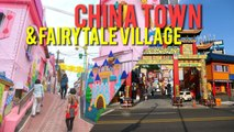 China town and Fairytale Village in South Korea! (Wolmido pt. 2)