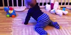 Cute babies crawling for the first time  Compilation 2019 | Babies Crawling