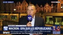 """Macron: une """"OPA"""" réussie sur Les Républicains ?"""