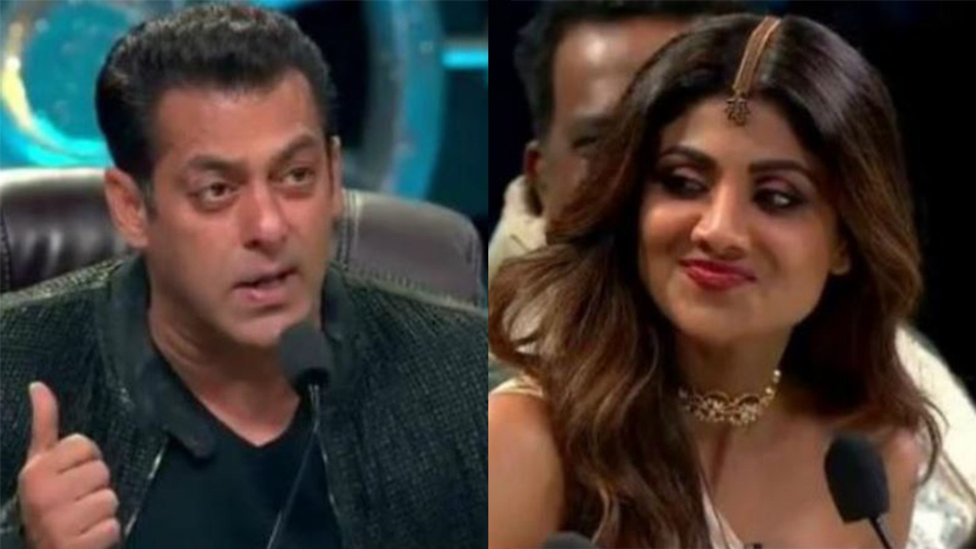 Salman Khan makes fun of Shilpa Shetty in front of Katrina Kaif on Super Dancer 3 | FilmiBeat