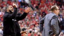 The NBA Complained About Drake's Behavior