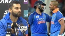 ICC World Cup 2019: Virat Kohli Speaks About Form Of Rohit Sharma And Shikhar Dhawan!!