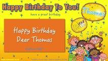 Jump Singers - Happy Birthday Dear Thomas (For Playtime)